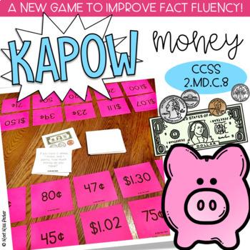 Money Kapow - Math Game / Center Common Core