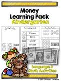 Money Kindergarten Pack