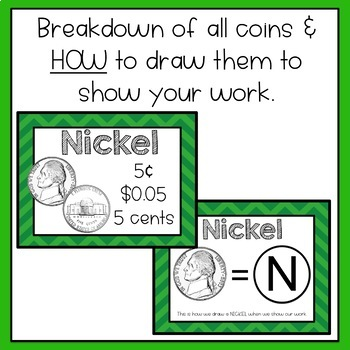 Money - Lesson & Practice Adding Coins