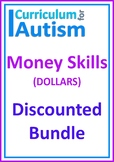 Money Life Skills Autism DOLLARS Bundle Independent Work Tasks