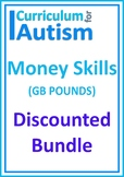 Money Life Skills Bundle Autism UK Pounds SEND Maths