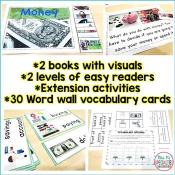 Money Life Skills Unit (Special Education & Autism Resource)