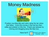 Counting Money - Interactive Smartboard Activity Lesson