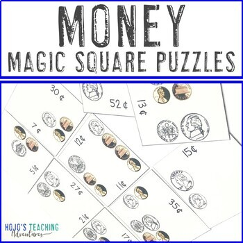 Money Math Center Games
