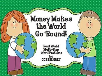 Money Makes the World Go 'Round CCSS 5.NBT.7