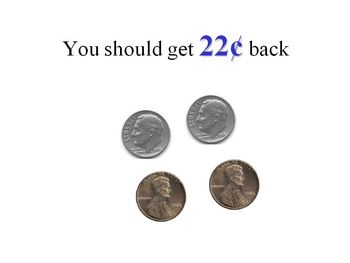 Money Making Change With a Dollar