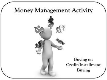 Money Management Activity