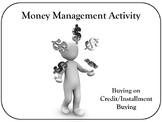 Money Management Activity
