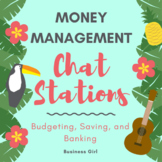 Money Management (Budgeting, Saving, Banking) Chat Stations