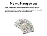 Money Management PowerPoint