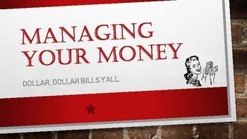 Money Management Presentation and Workbook