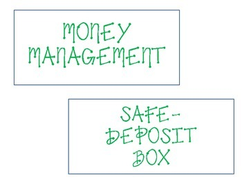 Money Management Word Wall