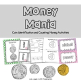 Money Mania: Coin Identification and Money Counting Activity Pack