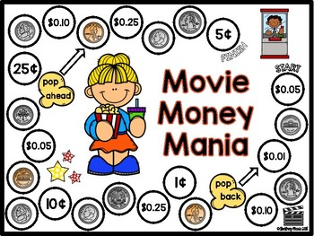 Identifying Coins and Values Board Games
