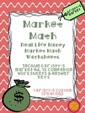 Money Market Math Worksheets