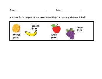 Money Market-Spend $1.00