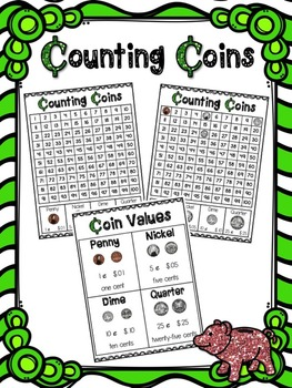 Money Mat Hundred Charts and Reference Charts