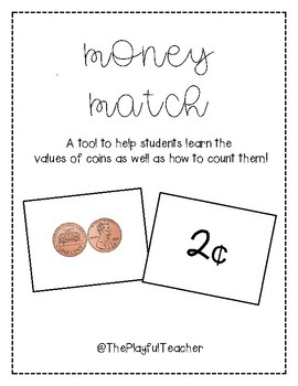 Money Match- Counting Coins