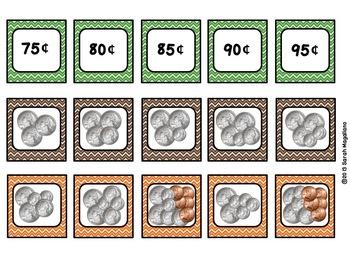 Money Match Games (Second Grade CCSS 2.MD.8)