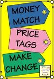 Money Match Price Tags Make Change