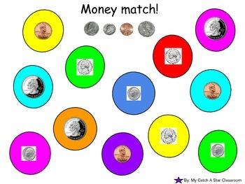 Money Match Printable