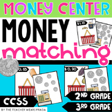 Money Match: Shopping at the Grocery Store w Recording Sheet