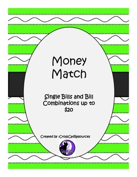 Money Match Single Bills and Bill Combinations