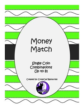 Money Match Single Coins and Coin Combinations up to $1