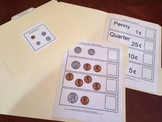 Money Match-up File Folder Games