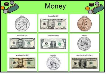 Money Matching Board!