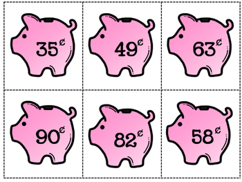 Money Matching Cards {Coins}