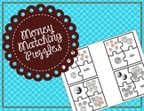 Money Matching Puzzle / Money Interactive Notebook Piece / Center
