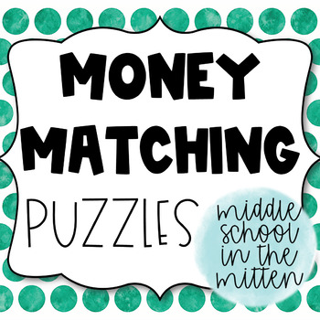Money Matching Puzzle