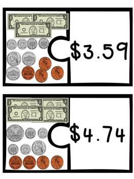 Money Matching Puzzles