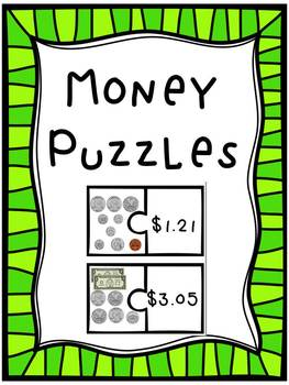 Money Matching Puzzles