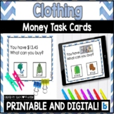 Money Matching Task Cards: Clothing Store Edition