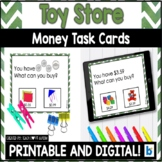 Money Matching Task Cards: Toy Store Edition