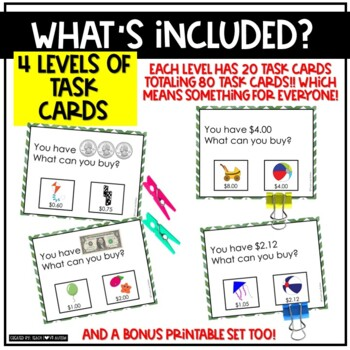 Matching Task Cards: Toy Store Edition