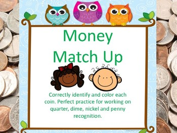 Money Matchup-Find the Coins