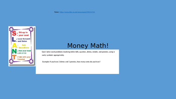 Money Math Powerpoint