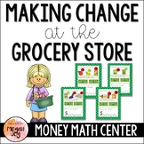 Making Change at the Grocery Store:  Money Math Game