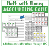 Distance Learning Money Math Accounting Game addition and