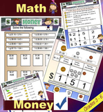 Money - Math - Adding and Subtracting Money