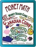 Money Math - Canadian Coin Board Games