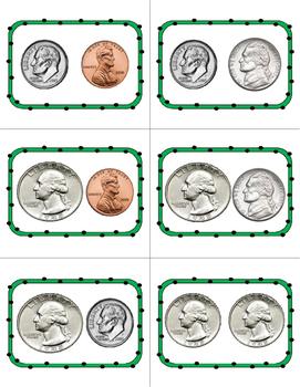 Money Math Center - Race to $1.00