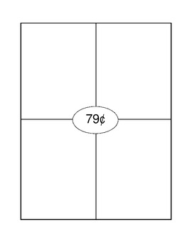 Money Math Center - Represent Value 4 ways