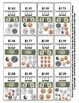 Money Math Center Smart Chute Style Cards - Dollar and Coins $1 - $1.99 amounts