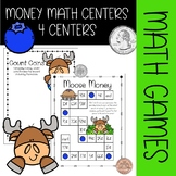 Money Math Centers {Moose Themed}