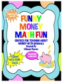 Money Math Centers Shopping Activity