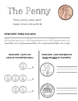 Money Math - Counting Coins